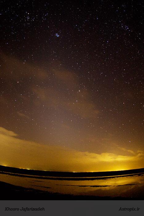 Zodiac light in Maranjaab