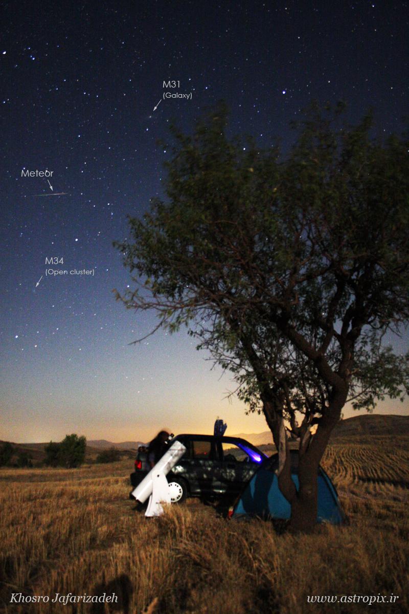 Perseus_meteor_khosro_jafarizadeh_01